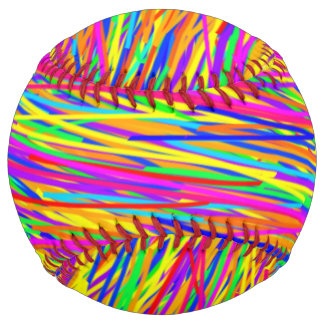 Colorful Softball