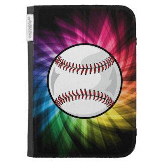 Colorful Softball; Baseball Cases For Kindle