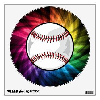 Colorful Softball; Baseball Wall Decor