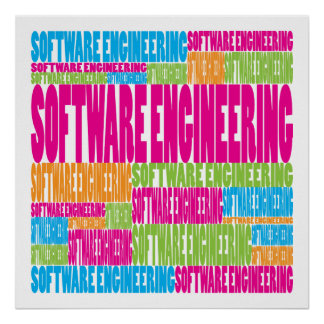 Colorful Software Engineering Poster