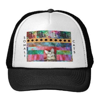 Colorful Somali Cat Surprise Trucker Hat