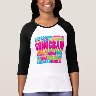 Colorful Sonogram T Shirt