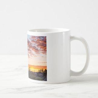 Colorful Sonoran Desert Sunrise Coffee Mug