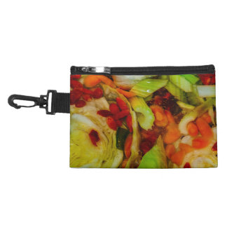 Colorful Soup Abstraction Accessory Bags