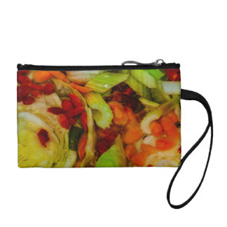 Colorful Soup Abstraction Coin Purse