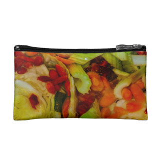 Colorful Soup Abstraction Cosmetic Bag