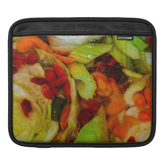 Colorful Soup Abstraction iPad Sleeve