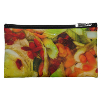 Colorful Soup Abstraction Makeup Bag
