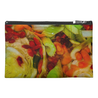 Colorful Soup Abstraction Travel Accessories Bag