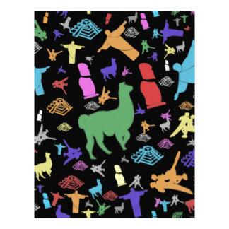 Colorful South America Letterhead