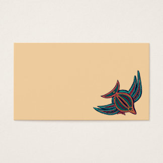 Colorful South Seas Art Business Card