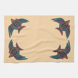 Colorful South Seas Art Hand Towel