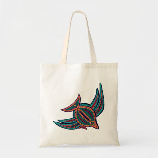Colorful South Seas Art Tote Bag