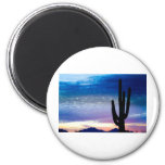 Colorful Southwest Desert Sunrise Magnets