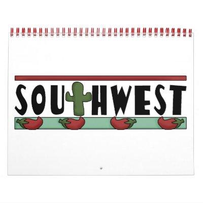 Colorful Southwest Kids' Calendar
