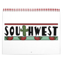 Colorful Southwest Kids' Calendar