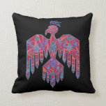 Colorful Southwestern Thunderbird Decorator Pillow