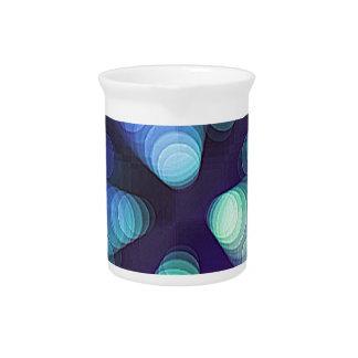 colorful sparkle pitchers