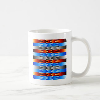 Colorful spectral background coffee mug