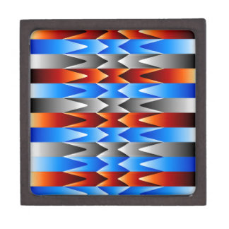 Colorful spectral background premium keepsake box