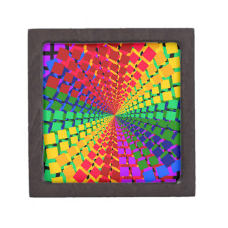 Colorful spectral background premium keepsake boxes