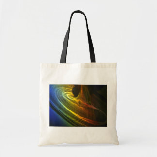 Colorful Spectral shadow Tote Bag