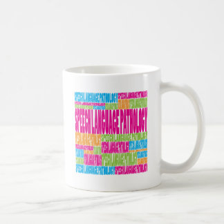 Colorful Speech Language Pathology Coffee Mug