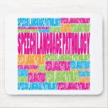 Colorful Speech Language Pathology Mouse Pad