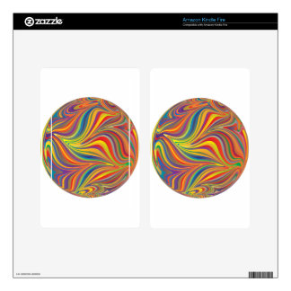 colorful sphere kindle fire skins