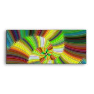 Colorful spiral envelopes