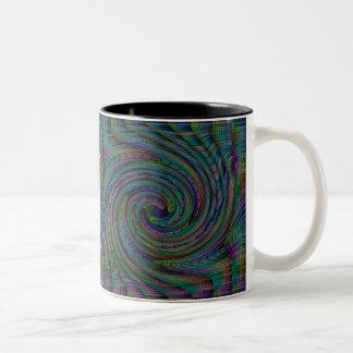 Colorful Spiral Pattern Coffee Mug