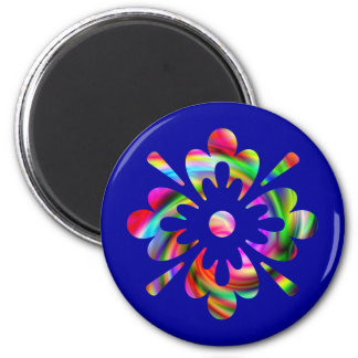Colorful Splash Magnet