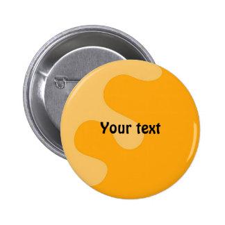Colorful splash thank you design 2 inch round button