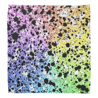 Colorful Splatter Bandana