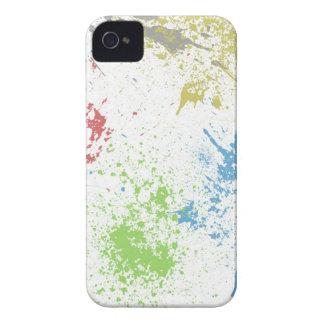 colorful splatter iPhone 4 Case-Mate case