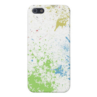 colorful splatter iPhone 5 case