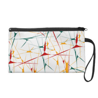 Colorful Splatter Shapes Bagettes Bag