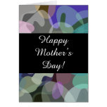 "[ Thumbnail: Colorful Splotch Pattern + ""Happy Mother's Day!"" ]"