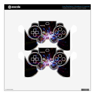 Colorful spot decal for PS3 controller