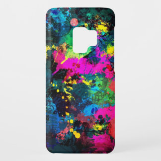Colorful spot stain art Case-Mate samsung galaxy s9 case