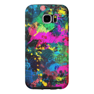 colorful spots samsung galaxy s6 case