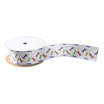 Colorful Spotted Geckos Lizards Giftwrap Ribbon