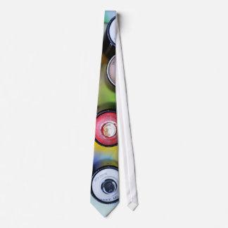 Colorful Spraycans Neck Tie
