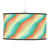Colorful Spring Abstract Pattern Hanging Lamp