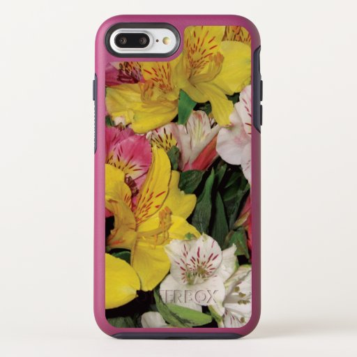 Colorful Spring Floral Bouquet Design iPhone Cases