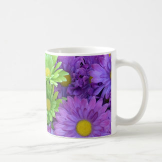 Colorful spring flowers coffee mug