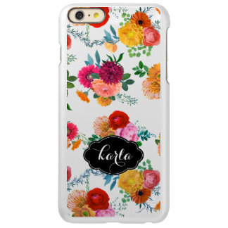 Colorful Spring Flowers Incipio Feather® Shine iPhone 6 Plus Case