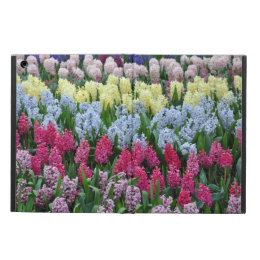 Colorful spring hyacinth cover for iPad air