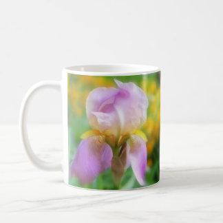 Colorful Spring Iris Coffee Mugs