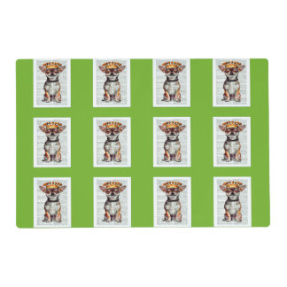 COLORFUL SPRING PLACEMATS